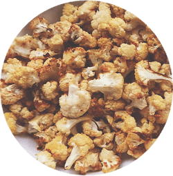 Pop corn karfiolból